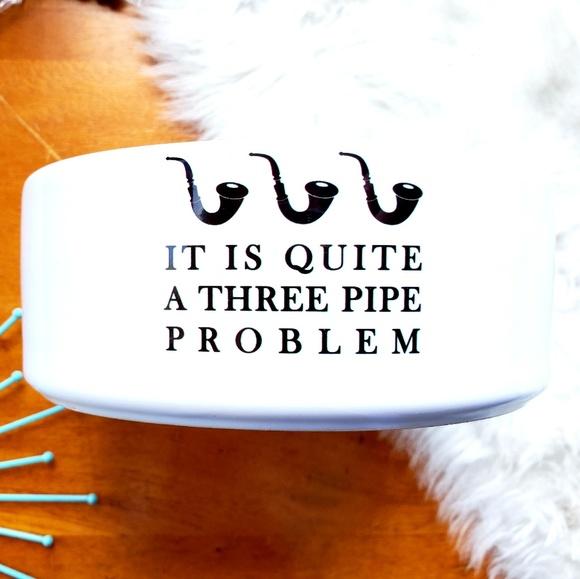 Three Pipe Kitchen It Is Quite A Three Pipe Problem Ceramic Bowl Poshmark